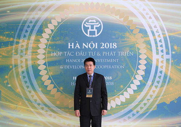 FRSC's Director attended the Conference on Investment and Development Cooperation in Hanoi in 2018